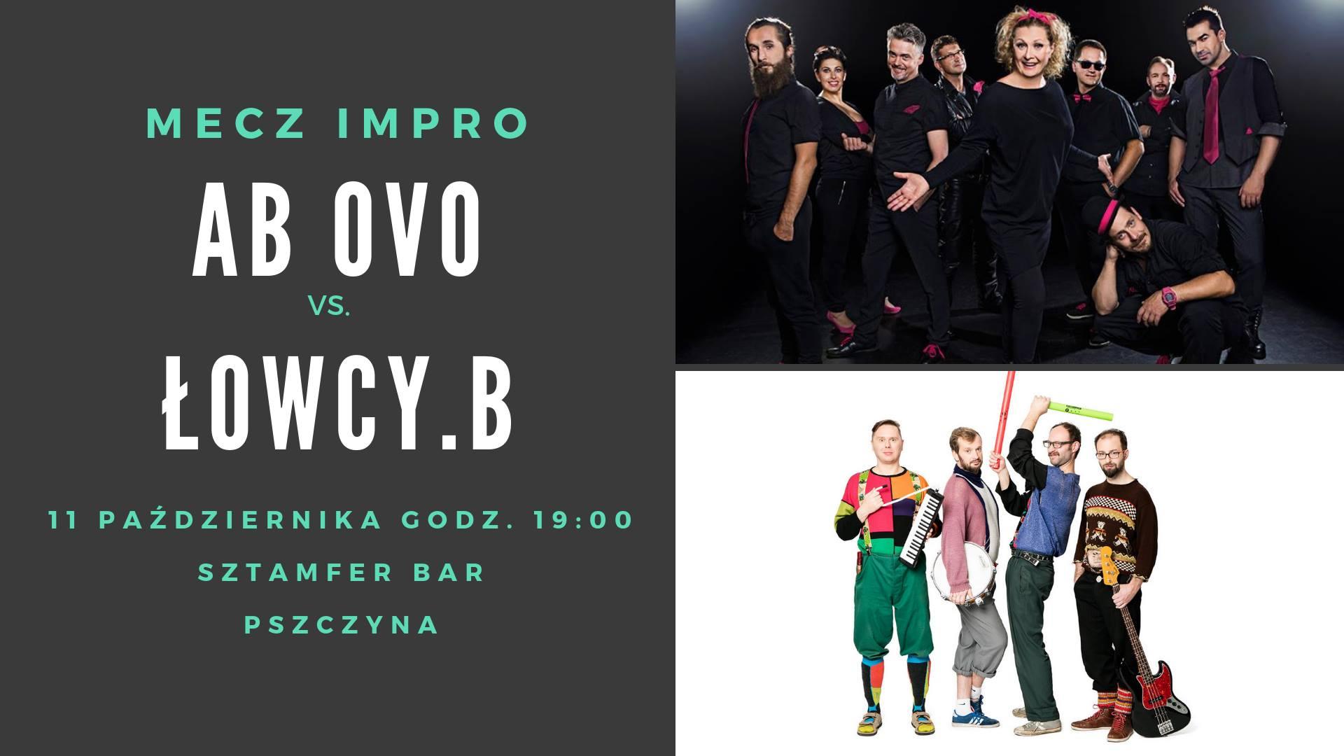 Mecz impro AB OVO vs. Łowcy.B