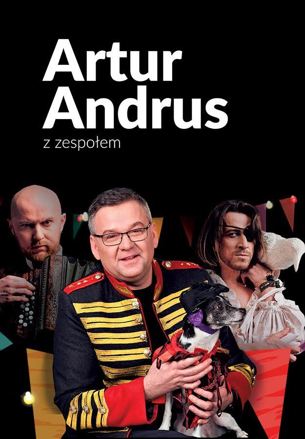 Artur Andrus z zespołem