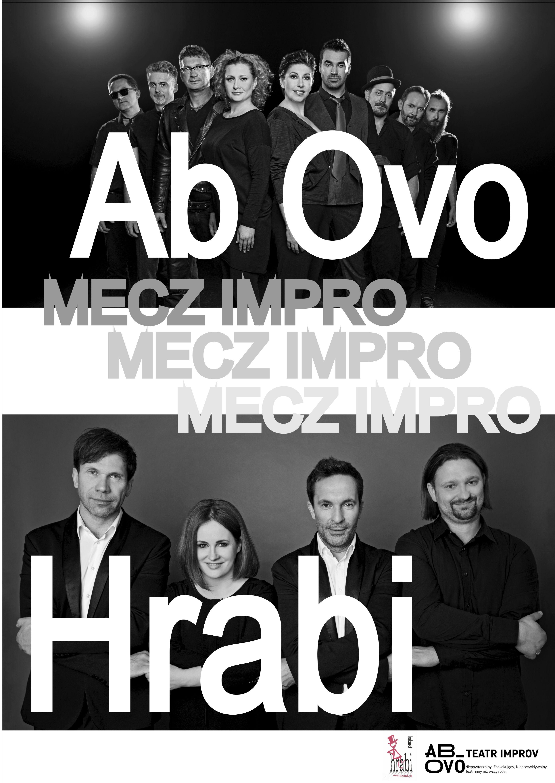 Mecz impro kabaret HRABI - teatr AB OVO