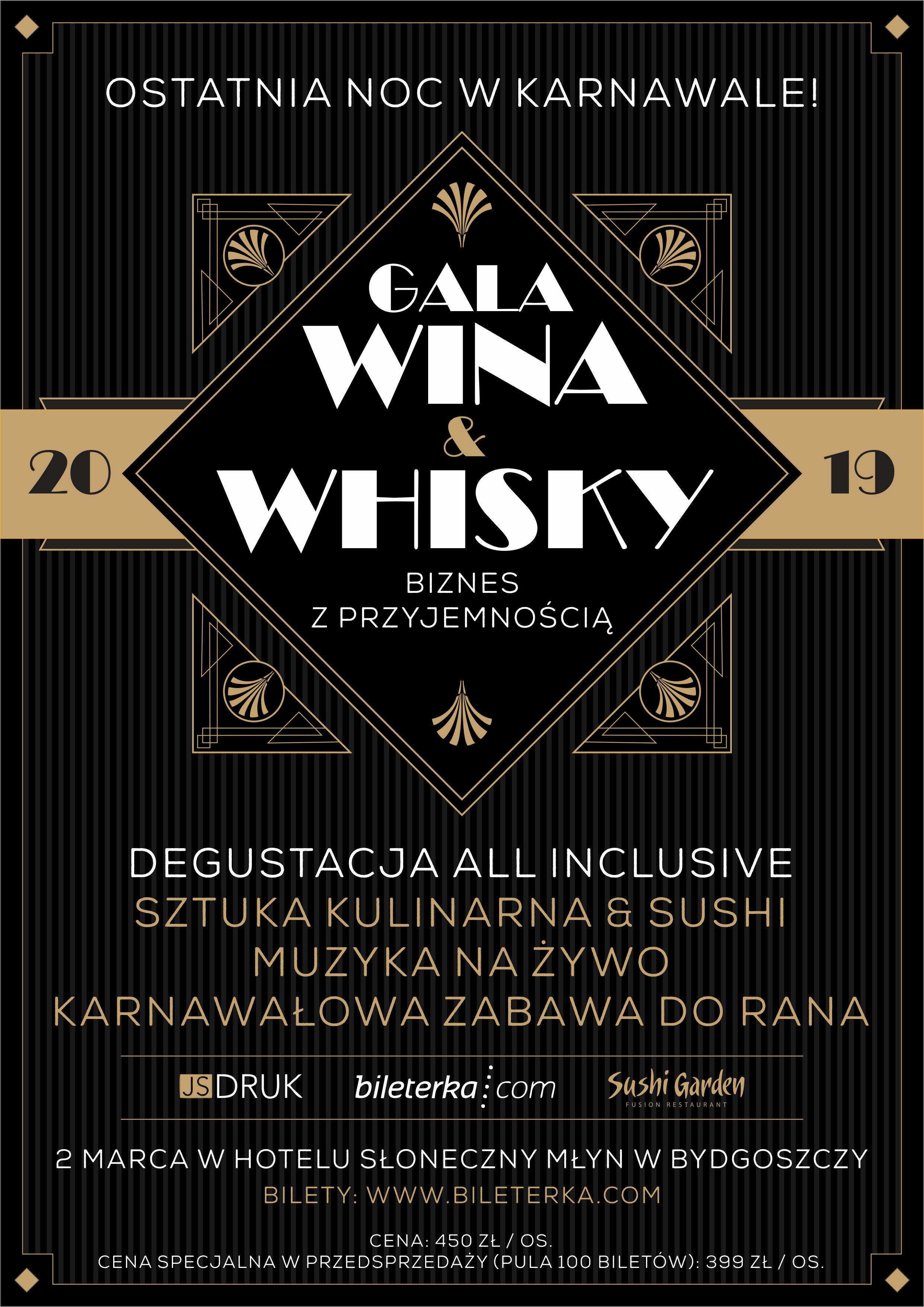 GALA WINA & WHISKY