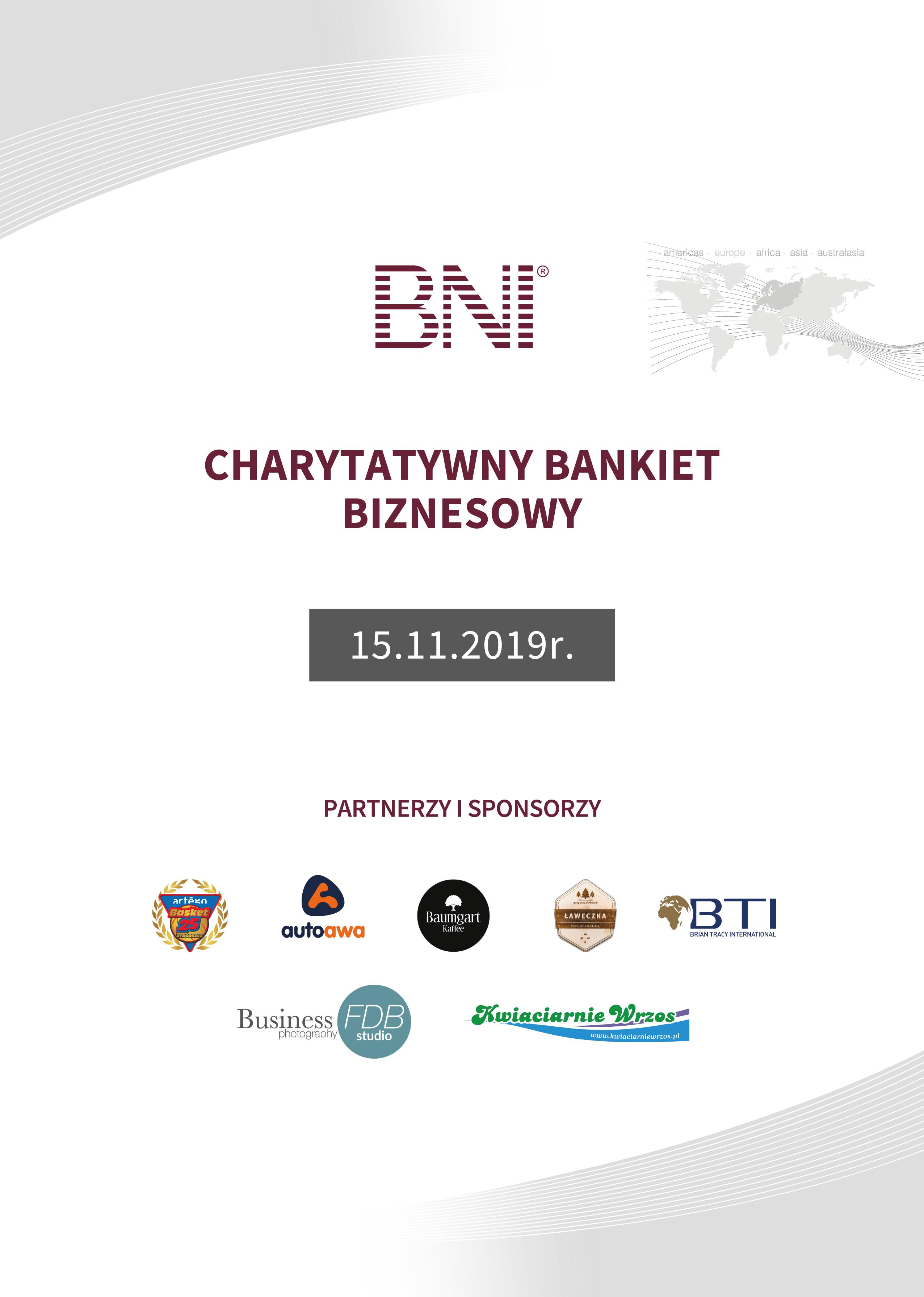 Charytatywny Bankiet Biznesowy - Bydgoszcz