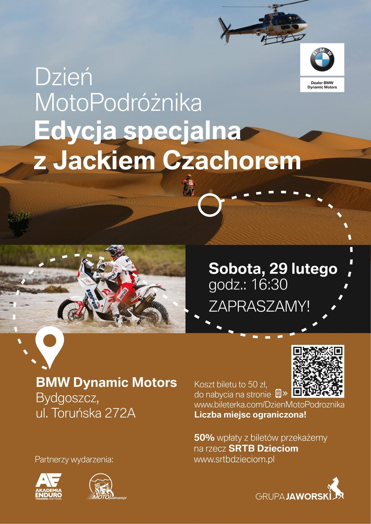 Dzień MotoPodróżnika - Edycja specjalna z Jackiem Czachorem
